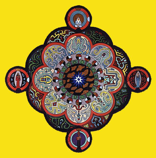 Carl Jung - Mandala as representation of the Center.